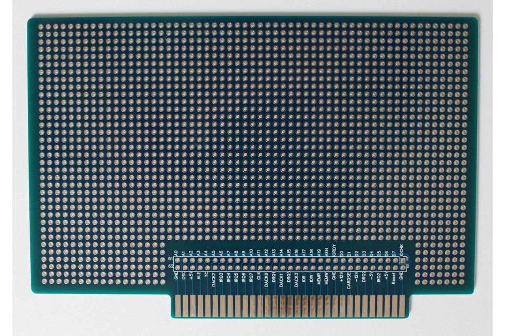 ISA 8-bit Prototype board PC XT 8088 PCB 1