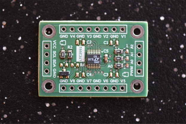 LTC2991 Octal I2C Voltage,Current and Temp Monitor