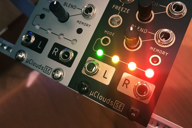 µClouds SE (uClouds, microClouds) Eurorack [Rev D]