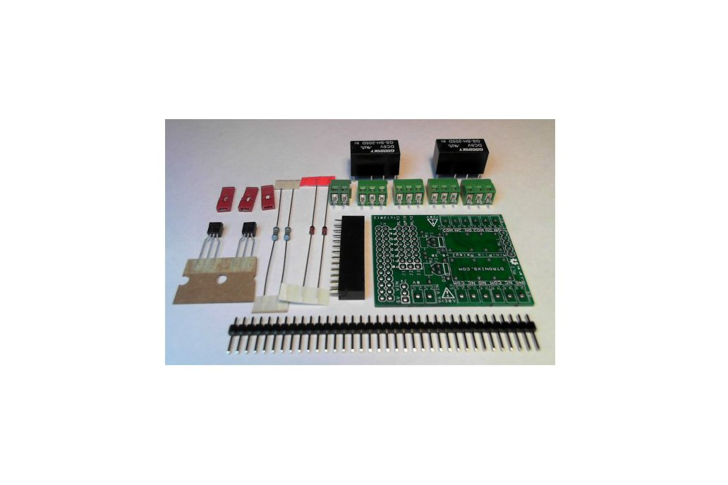 Raspberry PIIO - 2ch Relay add-on board - Kit only 1