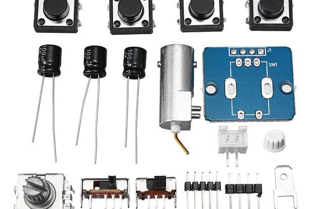 Digital Electronic Oscilloscope Set With Housing C