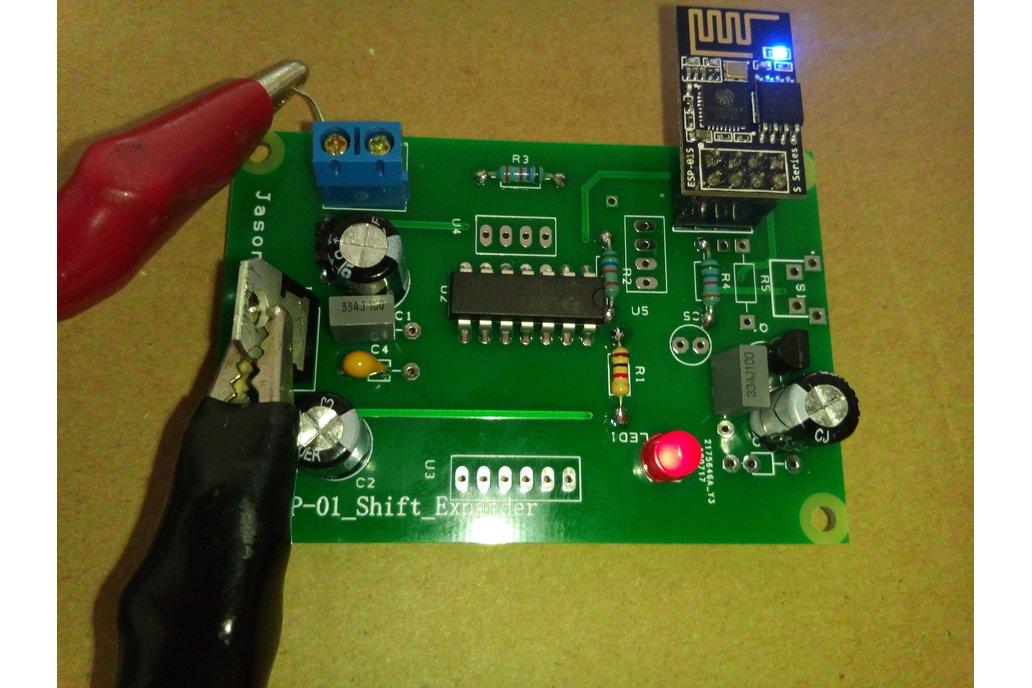 ESP8266 - ESP-01 PORT EXPANDER 1