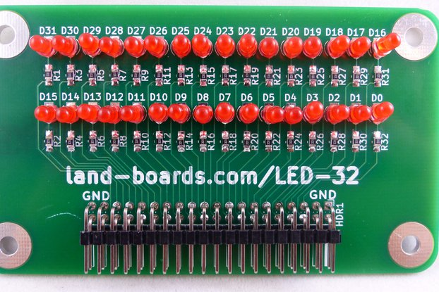 32-LED Card (PWB Only or Assembled)