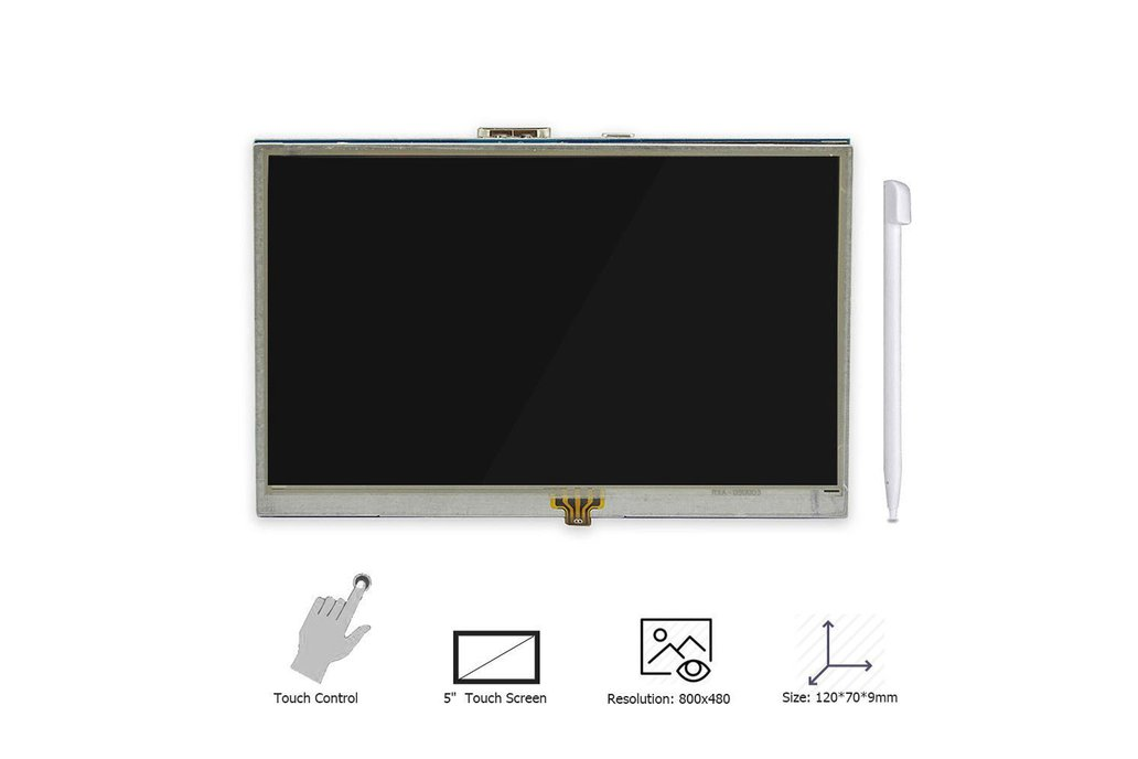 5 Inch Touch Screen Display for Raspberry Pi 3