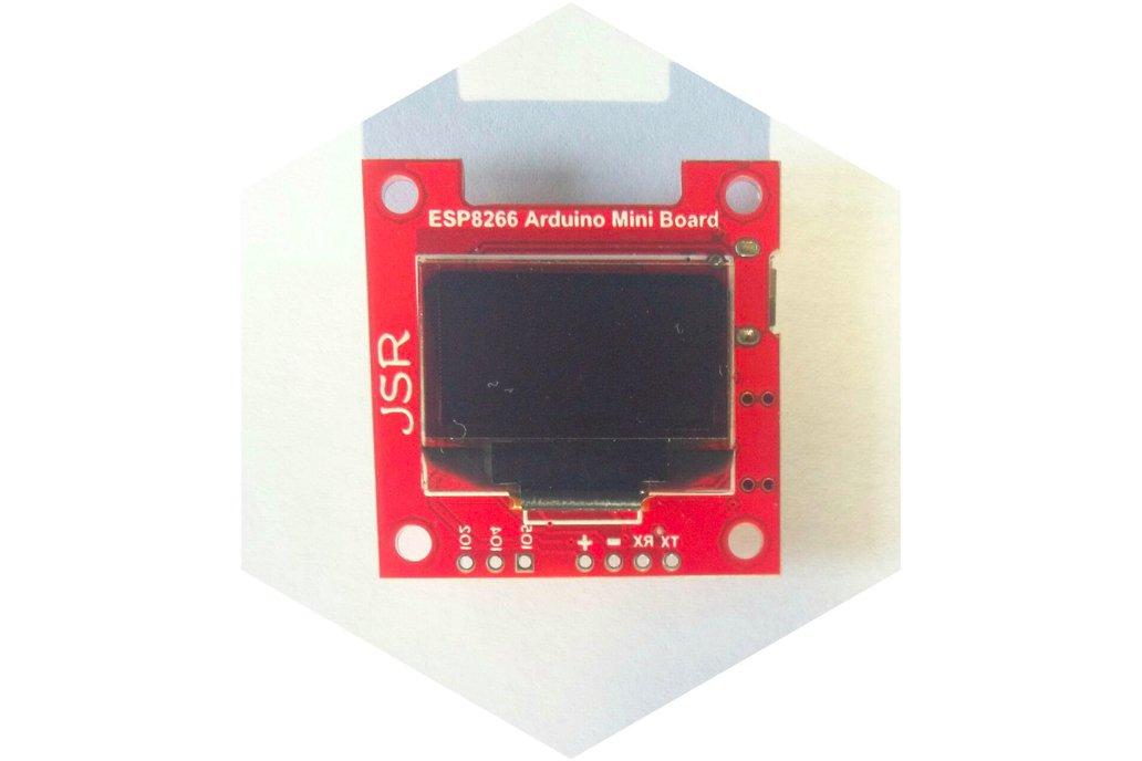 ESP8266 OLED Display Module SSD1306 I2C 1