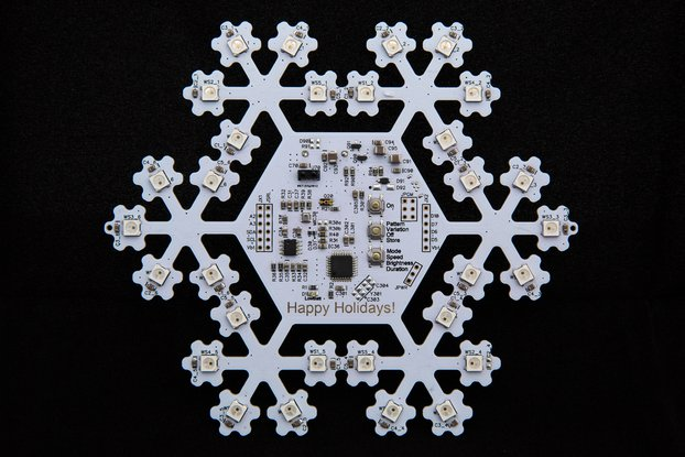 Electronic Snowflake / Christmas Ornament