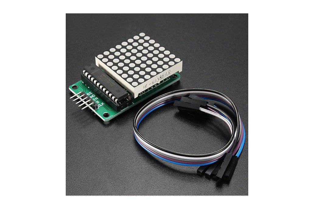 Dot Matrix LED Display Kit For Arduino 1