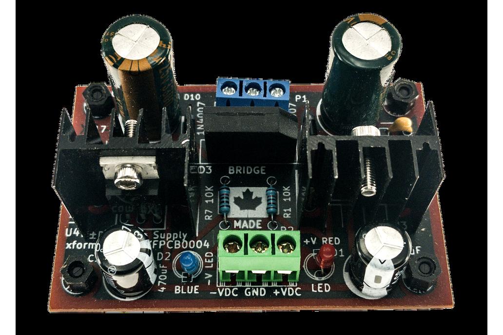 Dual Voltage AC ±DC Power Supply 6V 12V 15V 18V 36 1