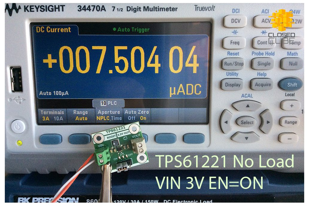 TPS61221 Low Input (from 0.7V) Boost 3.3V Breakout 10