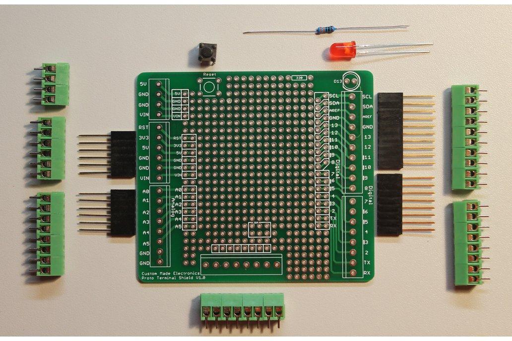 Arduino Proto Terminal Shield 3