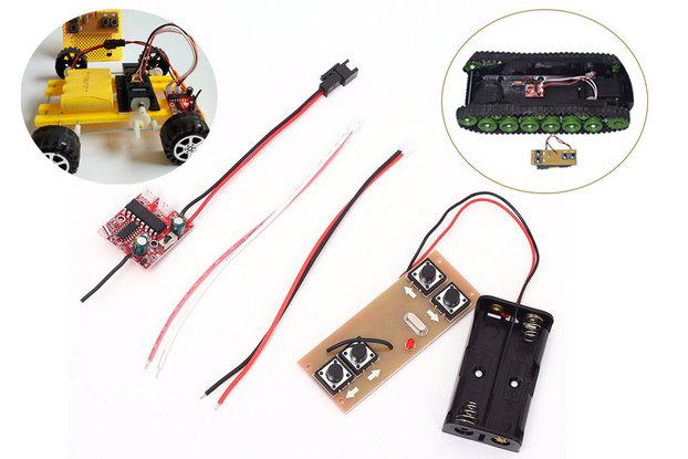 2.4G 4Bit Wireless Transceiver Remote Control Kit