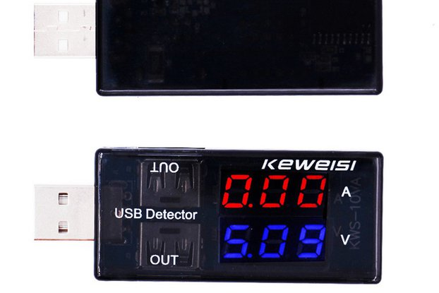 USB Charger Doctor Current Voltage Charging Detect