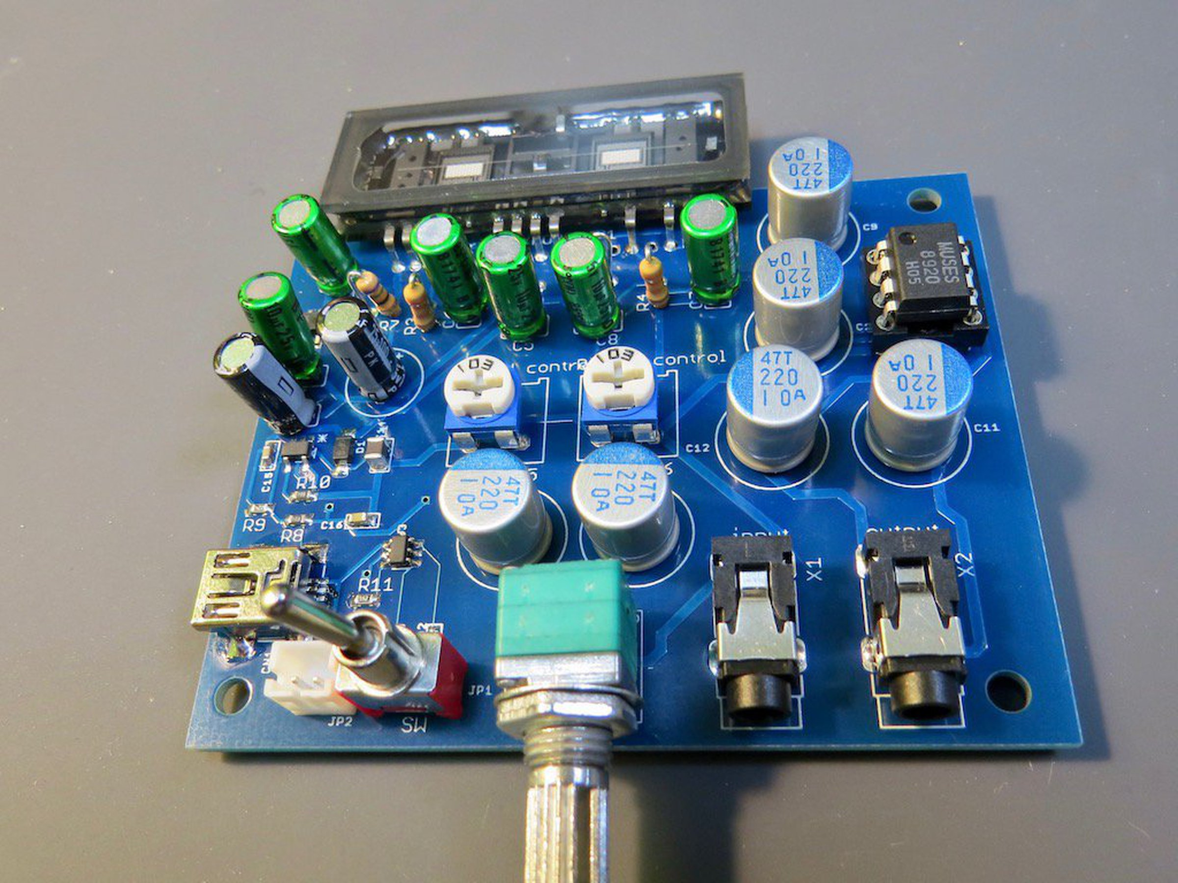 All New Nutube Headphone Amplifier From Microwavemont On Tindie 20v Ultra Precision Op Amps 1