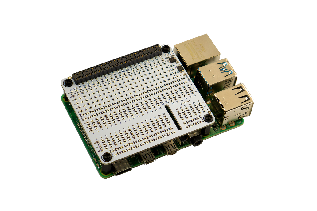 Proto HAT with ADC for Raspberry Pi 1