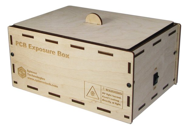"PCB UV Exposure Box, 6"" x 4"""