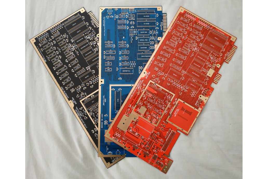 """SixtyClone"" Commodore 64 Replica PCBs 1"