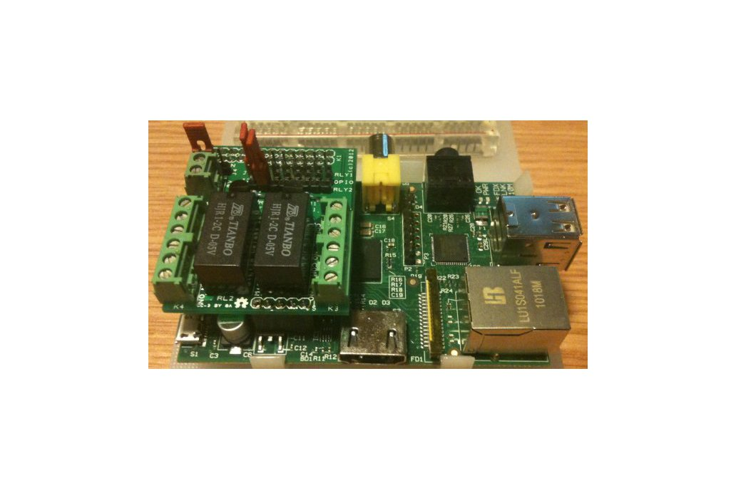 Raspberry PIIO - MiniPiio 2ch Relay add-on board 1
