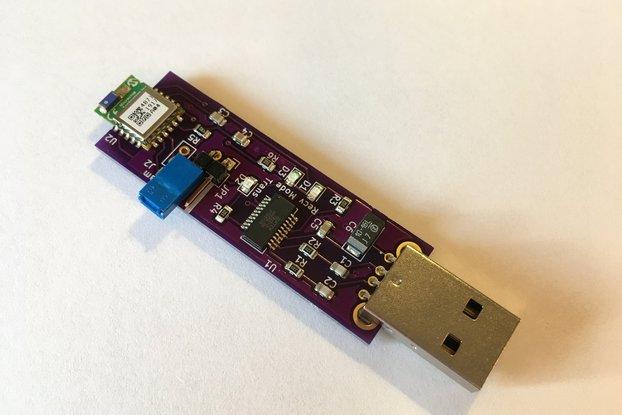 BLE serial USB