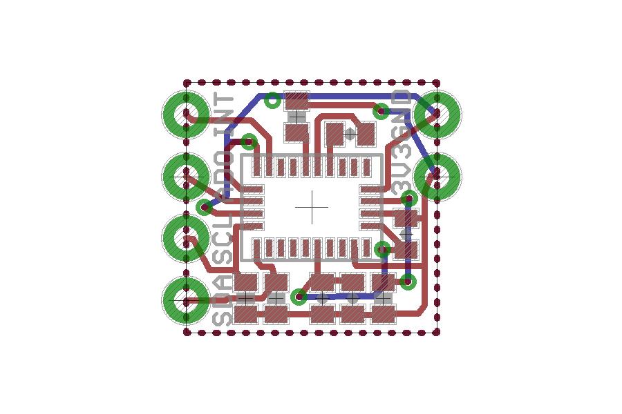 Wearable BNO055 Nano Board
