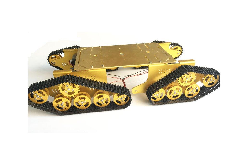 4WD Metal robot Wall-E Tank Track 4