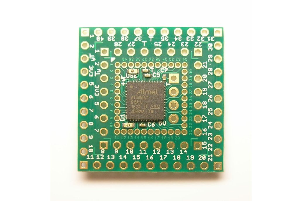 SAM 15x15 Arduino Zero compatible SAMD21 board 2