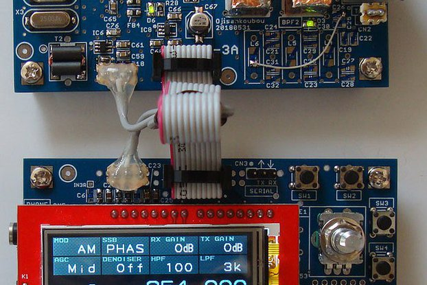 SDR-3 RADIO kit for learning RF commu-signal