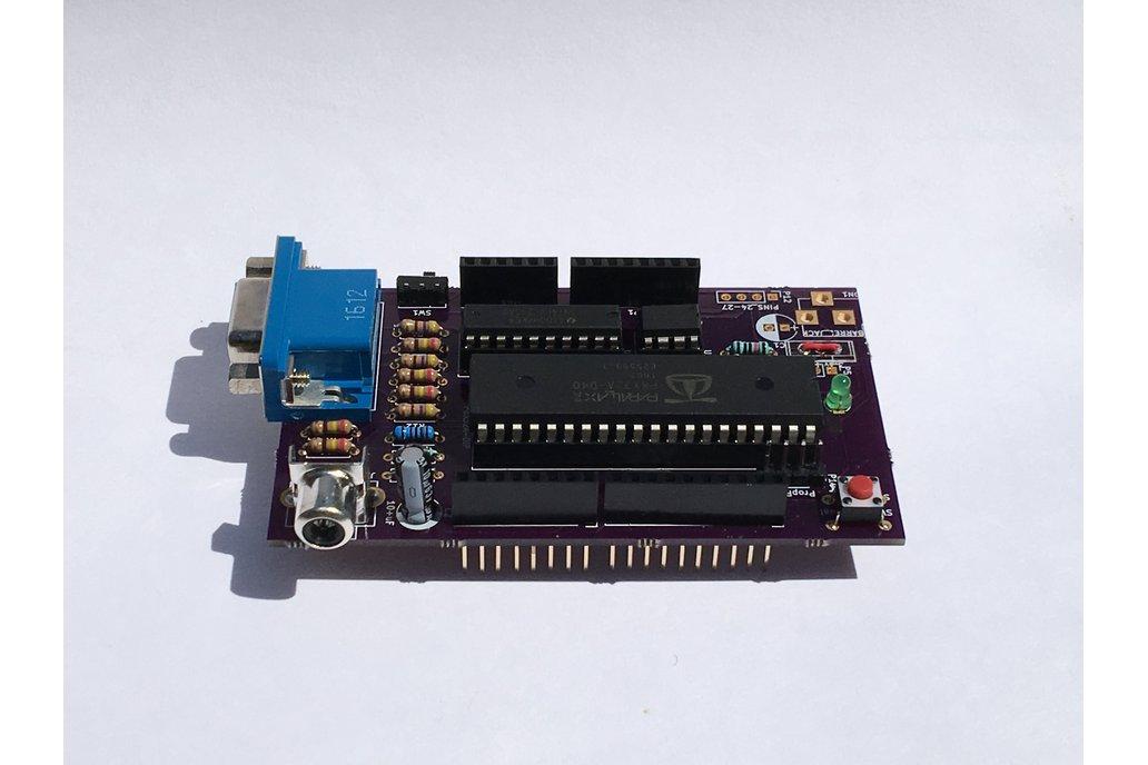 NGT20: Arduino VGA/NTSC Video Shield 1