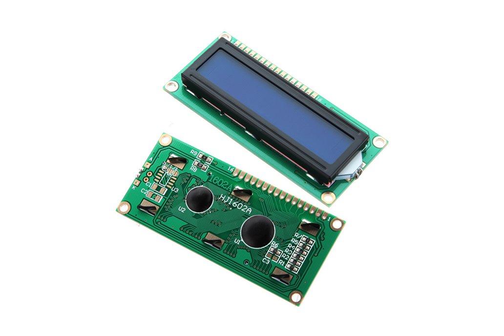 10x LCD Display Module (Blue Blacklight) 1
