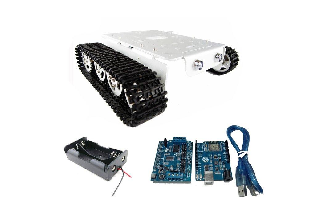 Arduino wireless wifi tank car kit 2