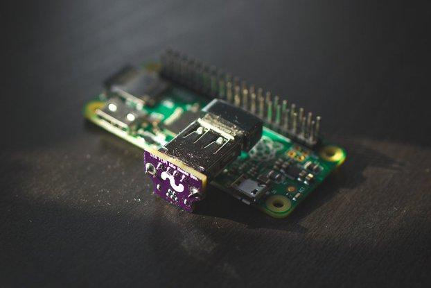USB OTG FLIP! Adapter for Raspberry Pi Zero