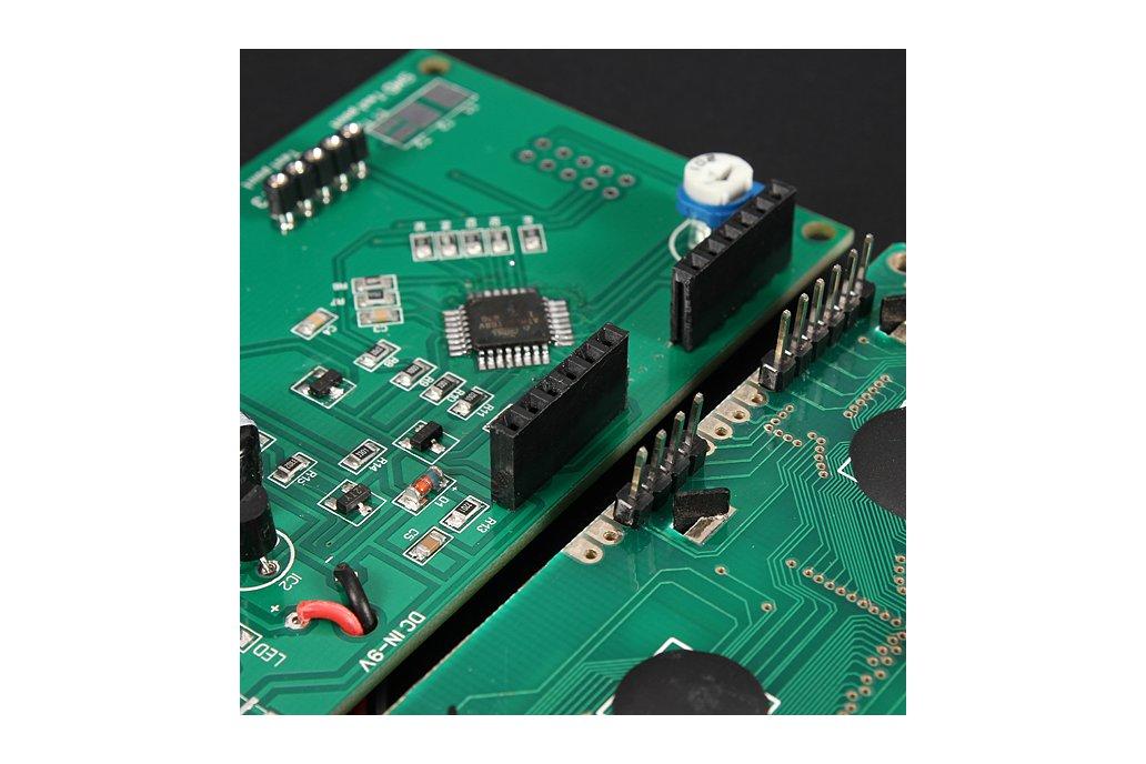 Transistor Tester Capacitor ESR Inductance Resistor Meter 7