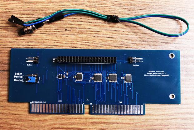 HDMI AMIGA 2000 / 3000 for Raspberry Pi Zero modul