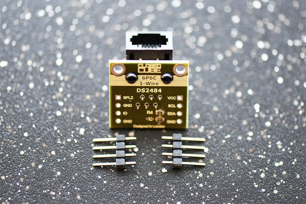 DS2484 I2C to 1-Channel OneWire Master Breakout