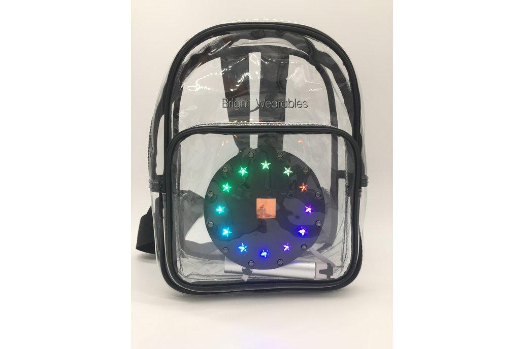 """""""Ada"""" Clear Backpack Bundle 1"""