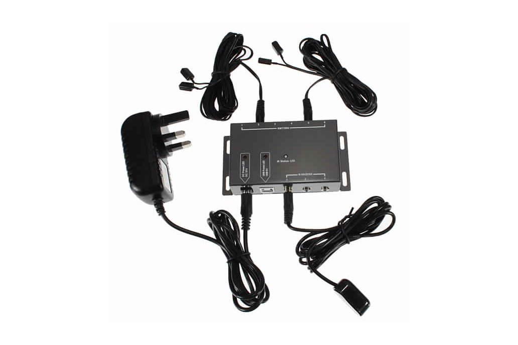 IR Extender Emitter Receiver Repeater Kit 1