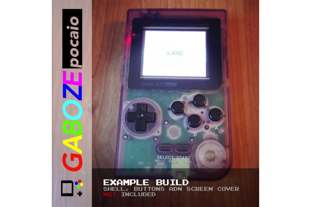 Gaboze Pocaio - Game Boy Pocket All In One 14