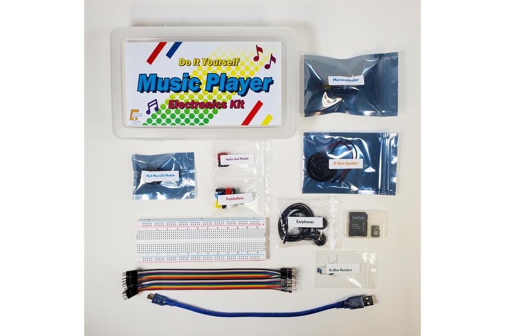 DIY Music Player Electronics Kit 1