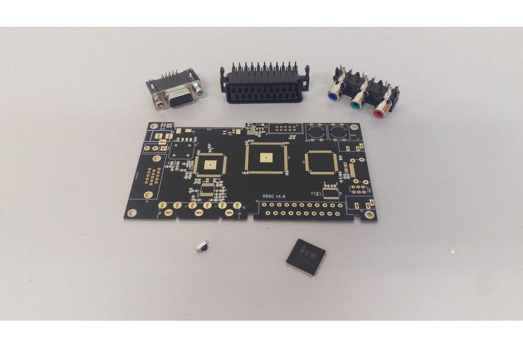 OSSC v1.6 Barebones Parts Kit by marqs85 1