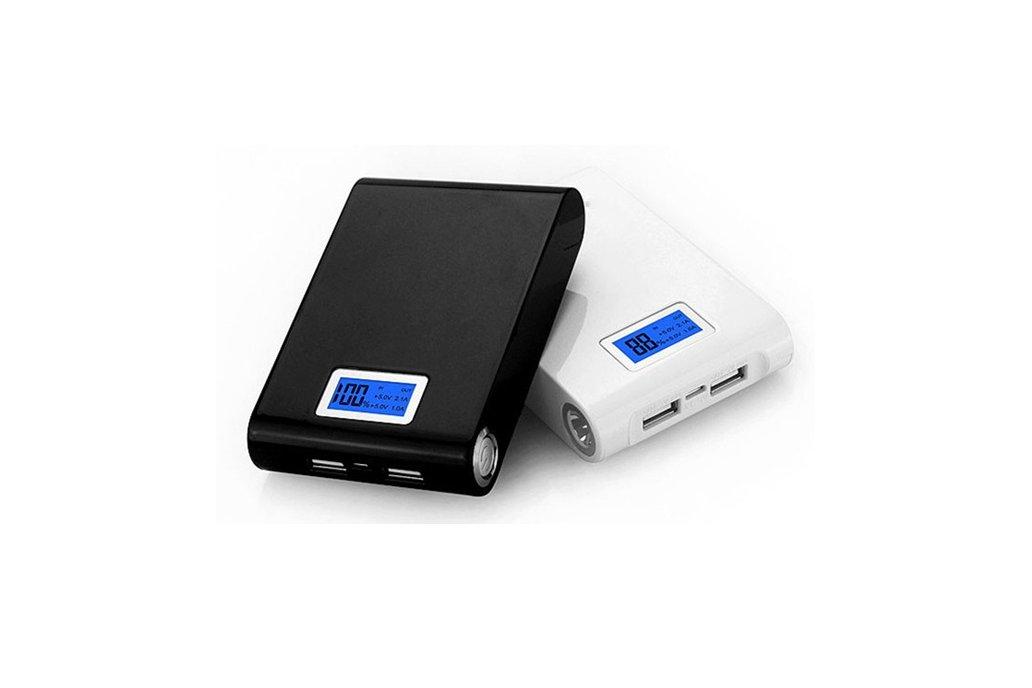 DIY Kit Dual USB Power Bank Battery Charger Box 1