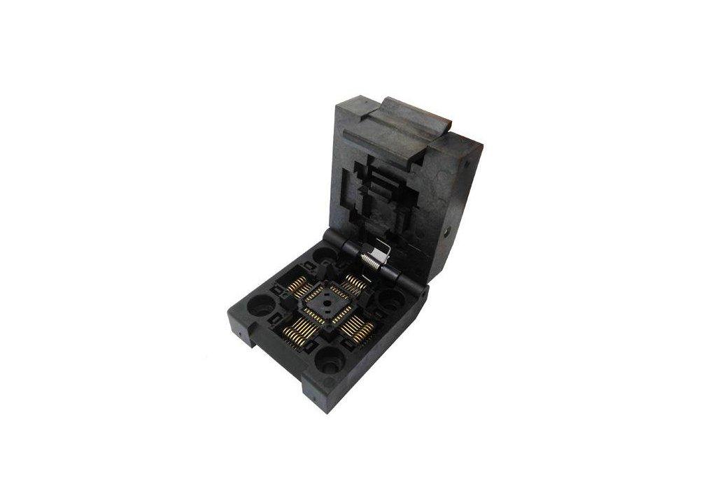 TQFP32 Clamshell ZIF Socket 1