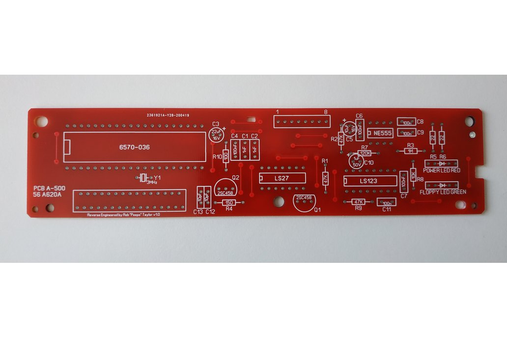 PCB Replacement for Amiga Mitsumi Keyboard 1