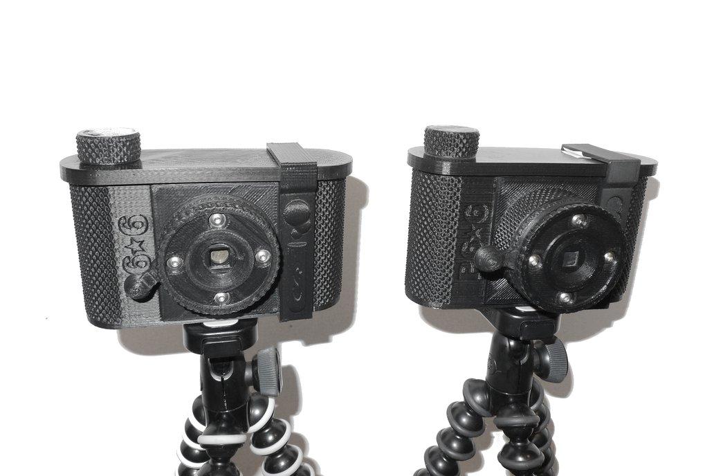 P6*6 3D-printed Pinhole Camera -120 film   1