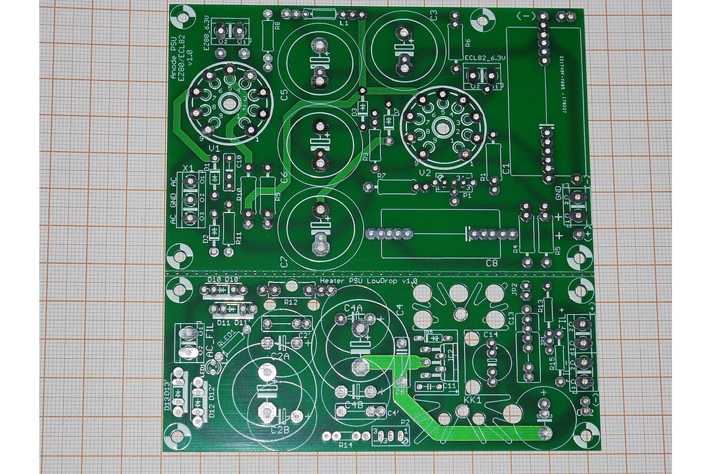 PCB Full Tube Anode Power Supply Shunt Regulator 2