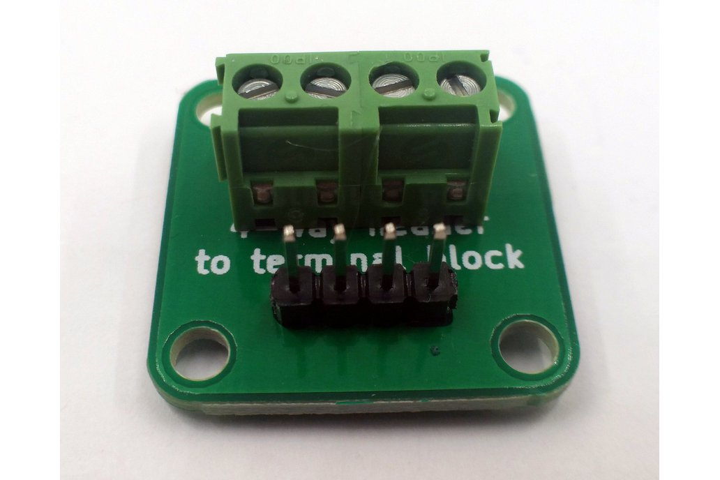 4-Way Header to Terminal Block Adapter 2