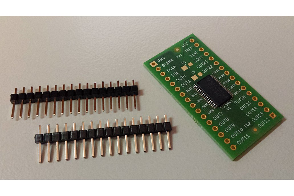 Breakout TLC5947 LED driver or other 32-pin TSSOP 3