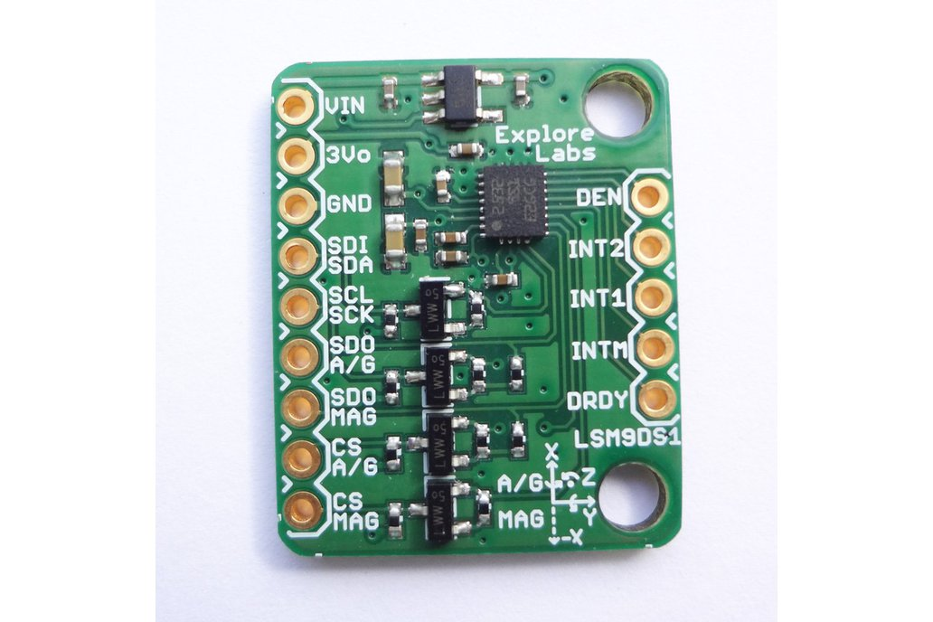 LSM9DS1 9 DOF Accelerometer + Gyro + Magneto Board 1