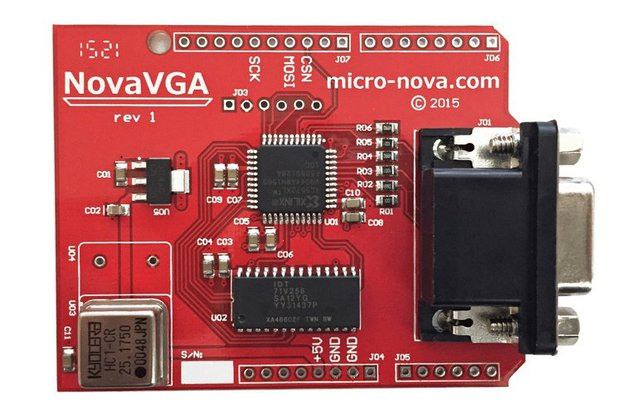 NovaVGA - Arduino graphics shield