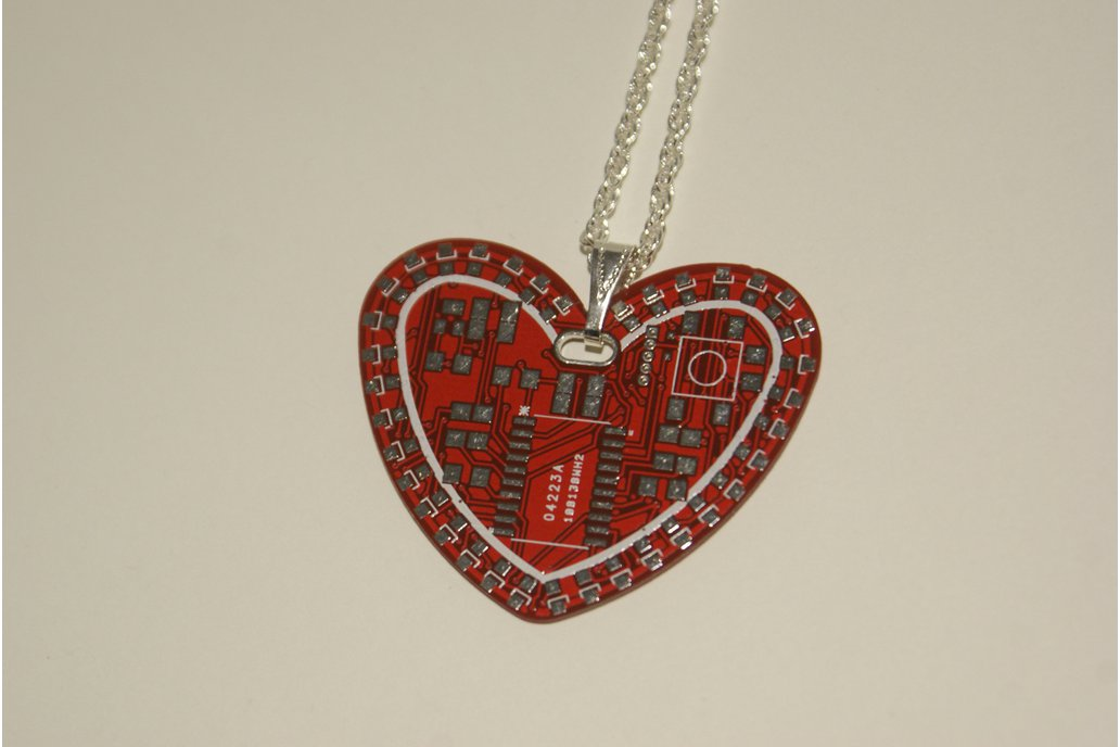 TechHeart Neck Charm - PCB 1
