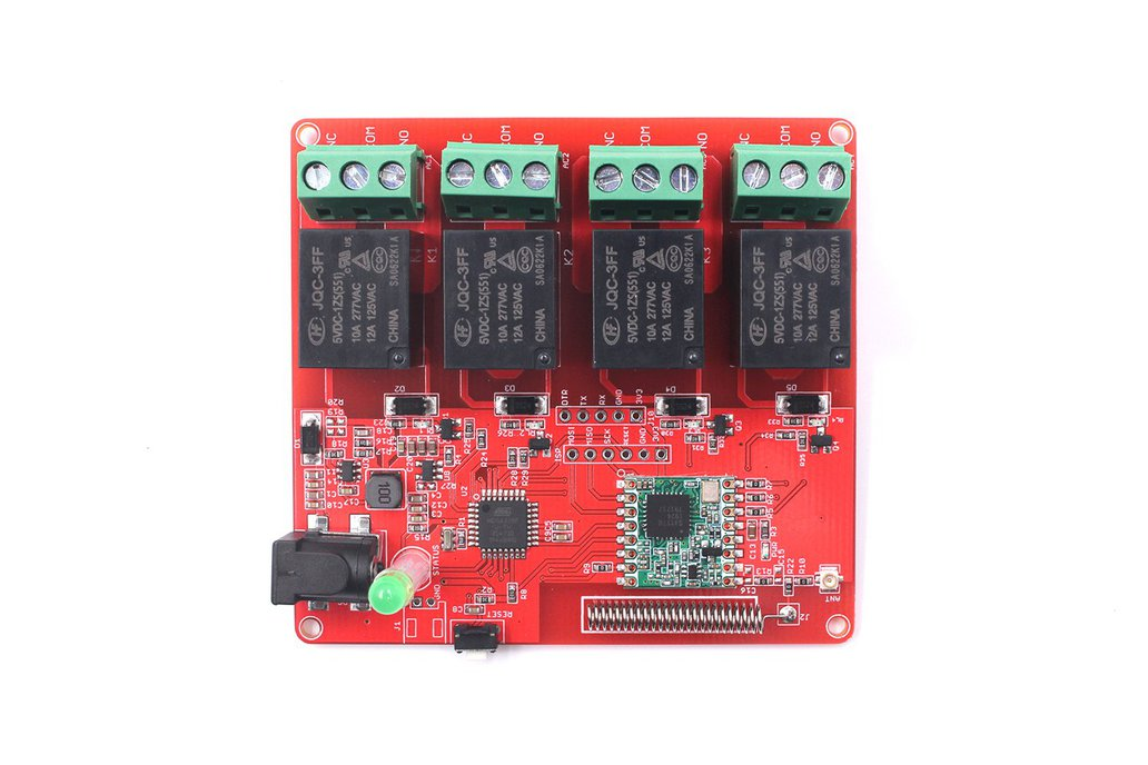 4-Channel Lora Relay 10A 1