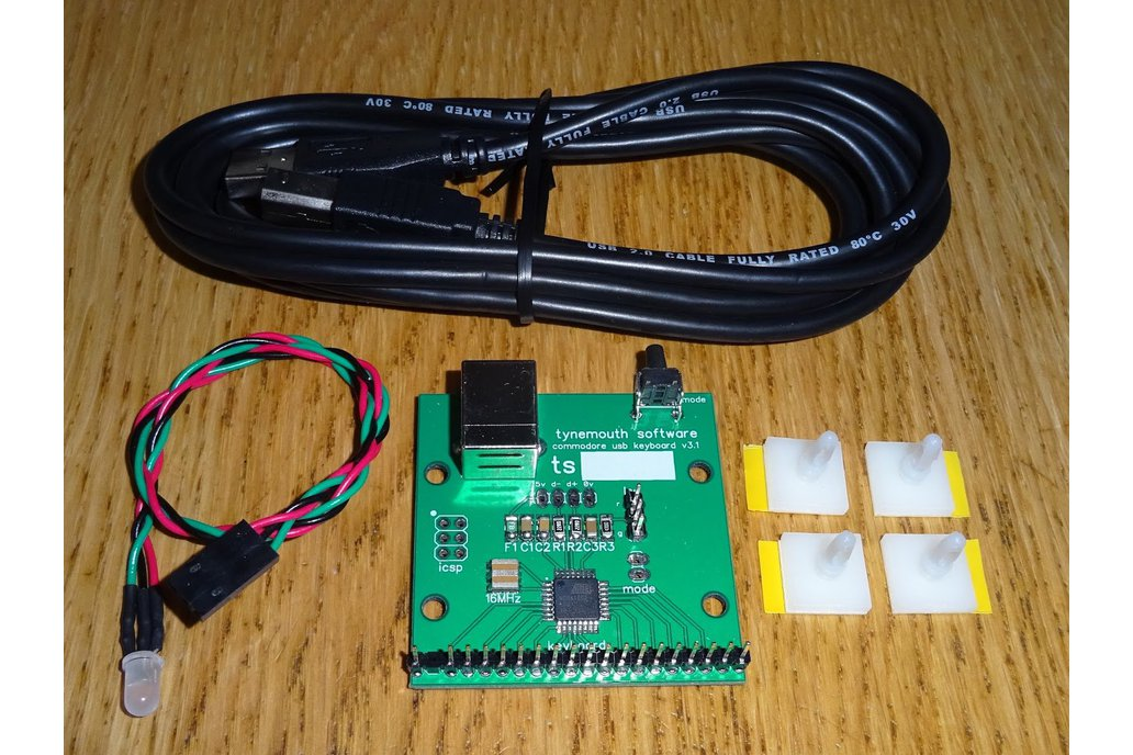 Commodore 64 USB keyboard kit 1